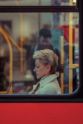 London Bus Window 3