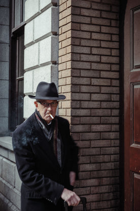 Smoking Man, Anglesea Street