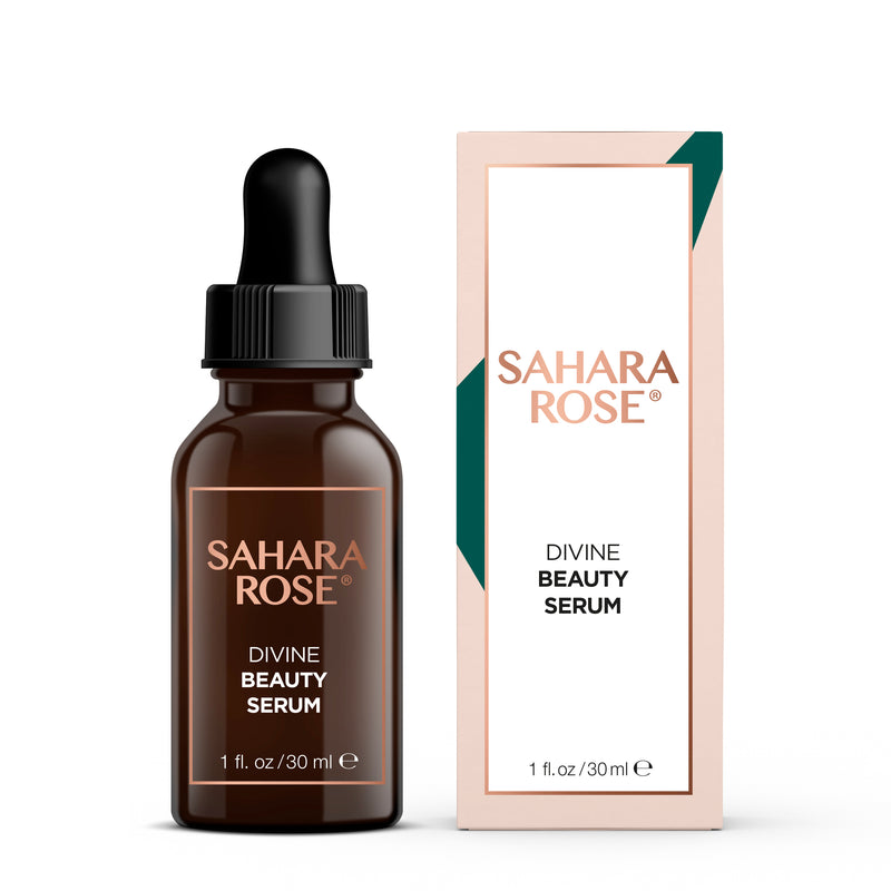 sahara rose skincare divine beauty serum 1 oz size