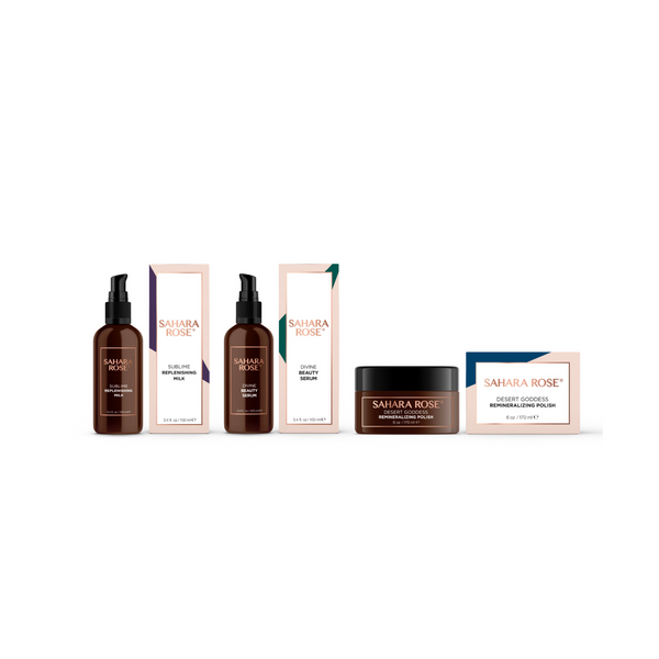 Sahara Rose Serenity Spa Ritual Gift Set