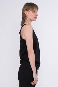 KOLO Berlin tang top schwarz biobaumwolleStreetwear gender neutral design urban wear kleidung online shop