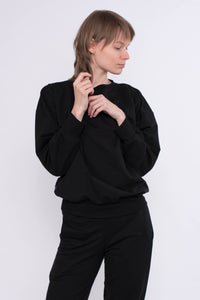KOLO Berlin sweater schwarz Streetwear gender neutral design urban wear kleidung online shop
