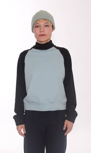 KOLO Berlin Sweater schwarz frost Streetwear gender neutral design urban wear kleidung online shop