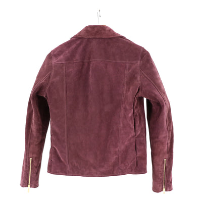 Mulberry Suede Jacket