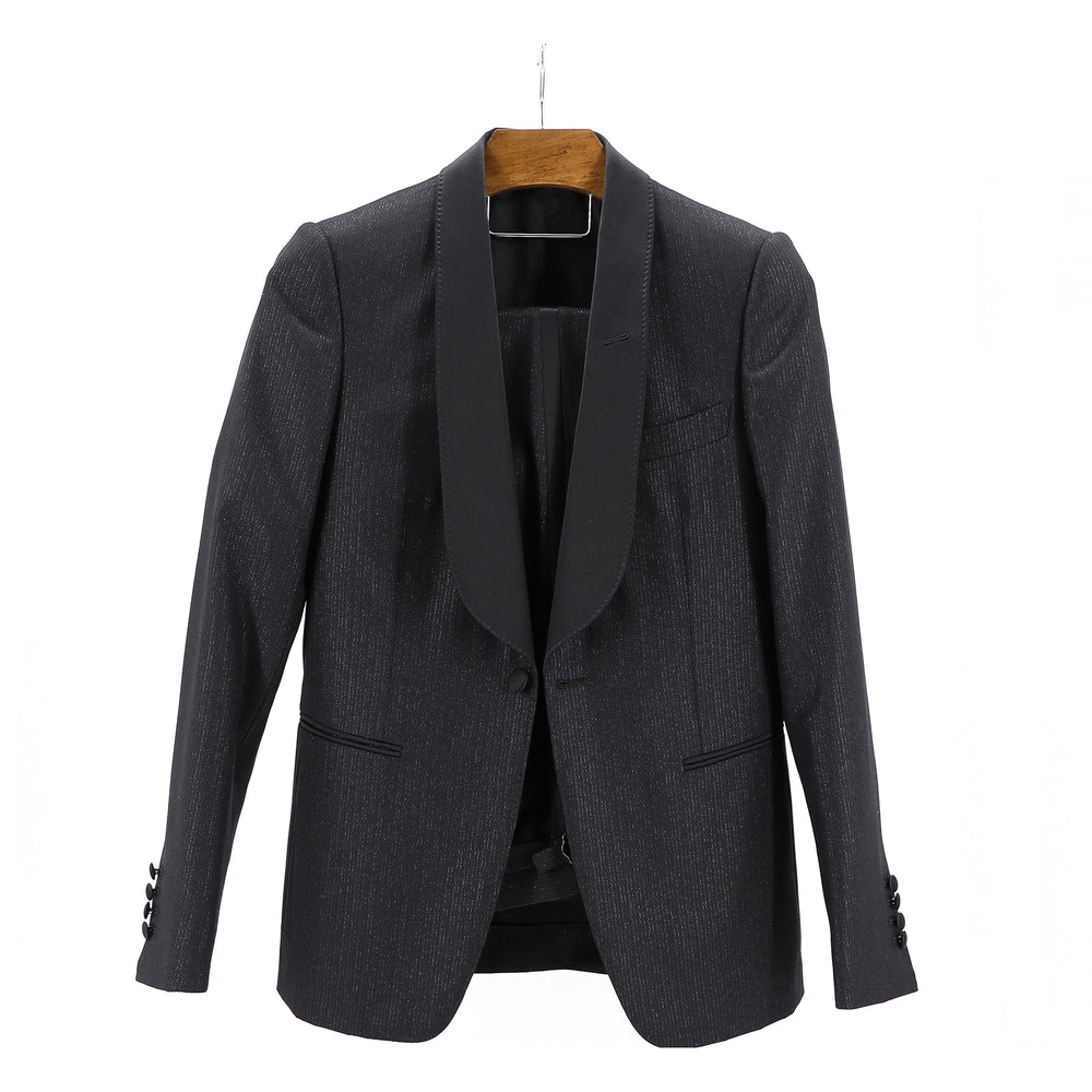 "Diamond Black   ""Terry Shawl Lapel"" 1B Tuxedo"