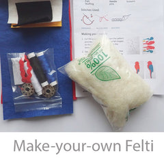 Make your own felti parrot