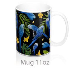 Spix macaws by griff mug