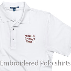 polo shirts for parrot lovers