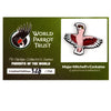 Collectors Enamel Pin Badges - no 1. Major Mitchell's Cockatoo