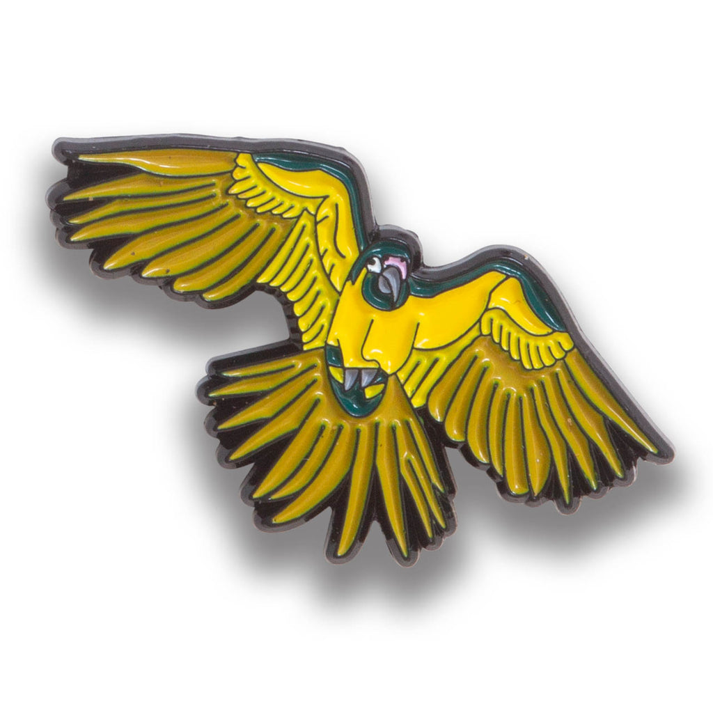 Collector's Enamel Pin Badges - no 16. Blue-throated Macaw