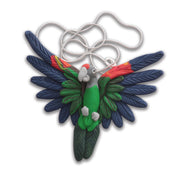 Handcrafted Cape Parrot necklace