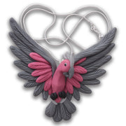 Handcrafted Galah necklace