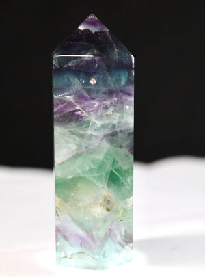Fluorite Hexagonal Polished Point