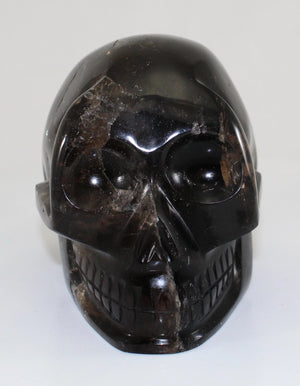 Smoky Quartz Crystal Skull