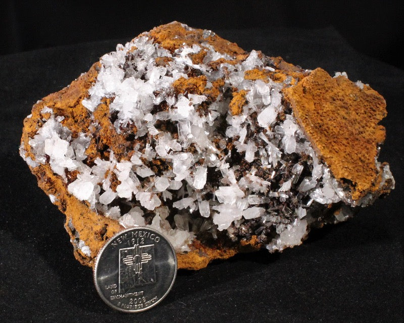 Hemimorphite with Goethite