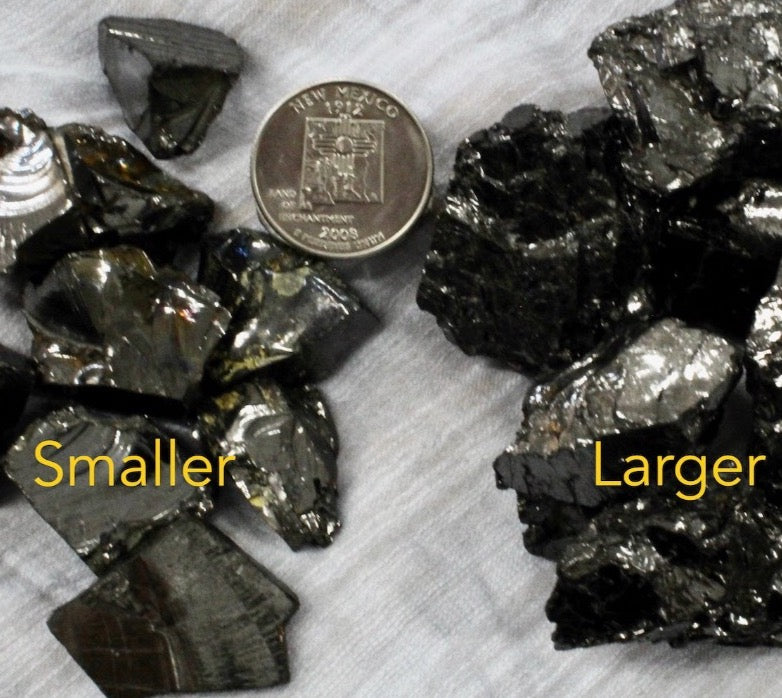 Shungite Elite - Rough Loose Crystals Bulk
