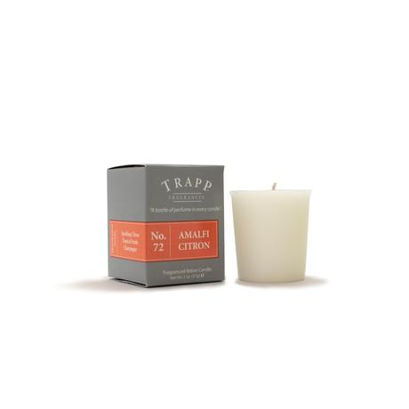 Trapp Amalfi Citron Candle Votive 2oz - 4 Pack