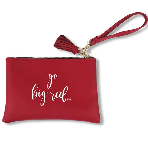 Nebraska Go Big Red Jen Wristlet