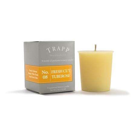 Trapp Fresh Cut Tuberose Candle Votive 2oz - 4 Pack