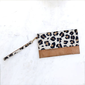 The Royal Standard Alana Hide Wristlet