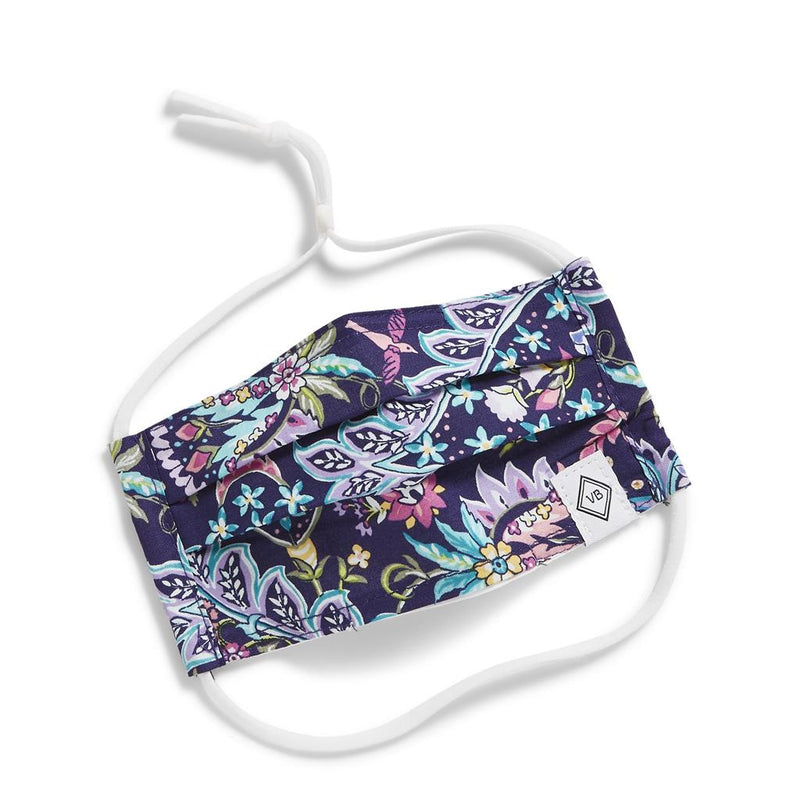 Vera Bradley Youth Mask with Adjustable Elastic