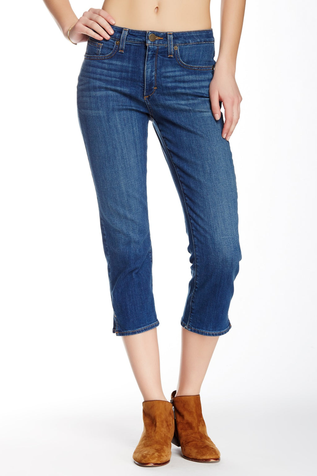 SPANX The Slim-X Casual Capri Jean