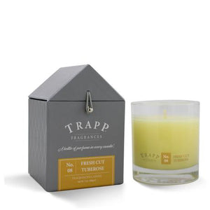 Trapp Fresh Cut Tuberose Candle 7oz.