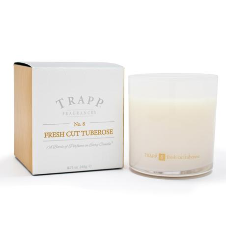 Trapp Fresh Cut Tuberose Candle 8.75oz.
