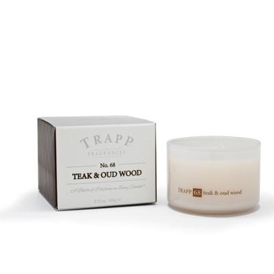 Trapp Teak & Oud Wood Candle 3.75oz.