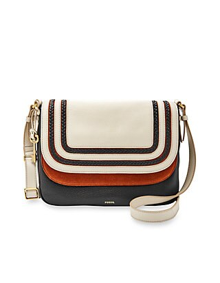 Fossil Peyton Large Double Flap Crossbody