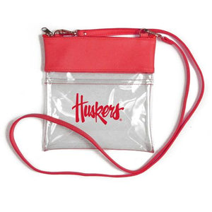 Nebraska Clear Gameday Crossbody
