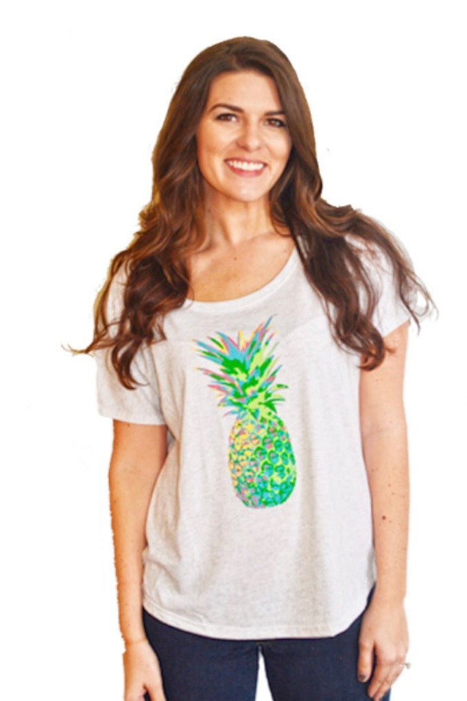 Pineapple Cotton Dolman