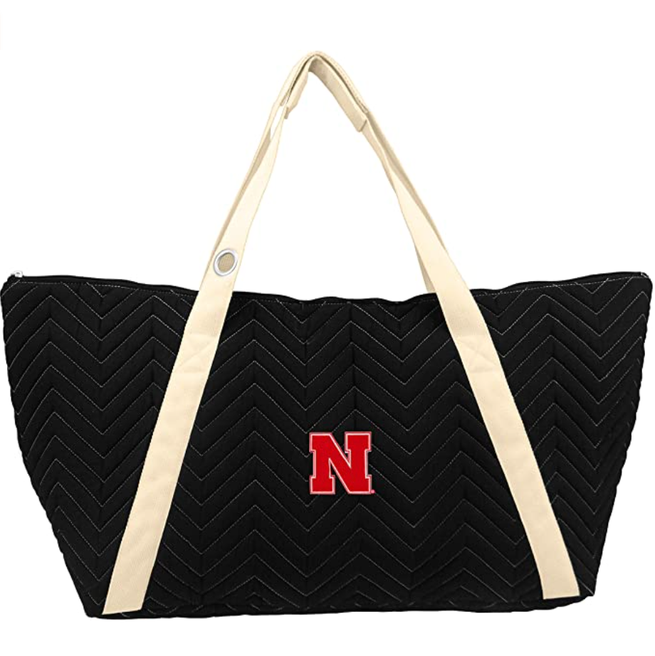 NCAA Chev-Stitch Weekender Tote