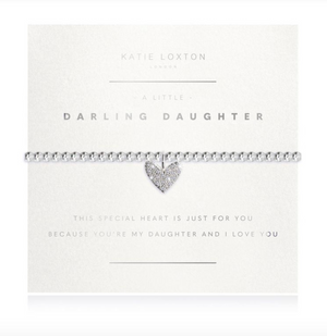 Katie Loxton A Little Darling Daughter Faceted Bracelet
