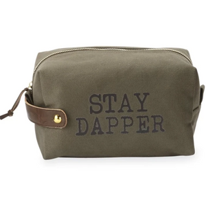 Mudpie Canvas Dopp Kit