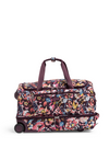 Vera Bradley Lighten Up Foldable Rolling Duffel