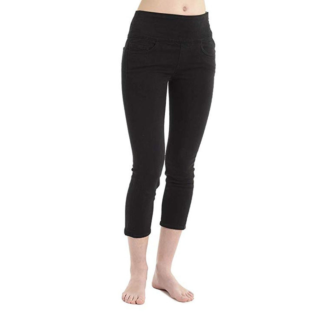 Spanx Signature Capri Jeans in Basic Black
