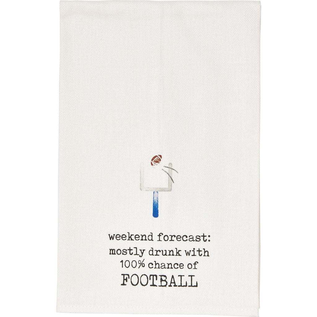 Weekend Forecast Dish Towel