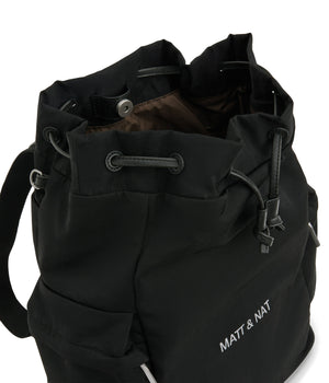 Matt & Nat Isla Diaper Bag, Black