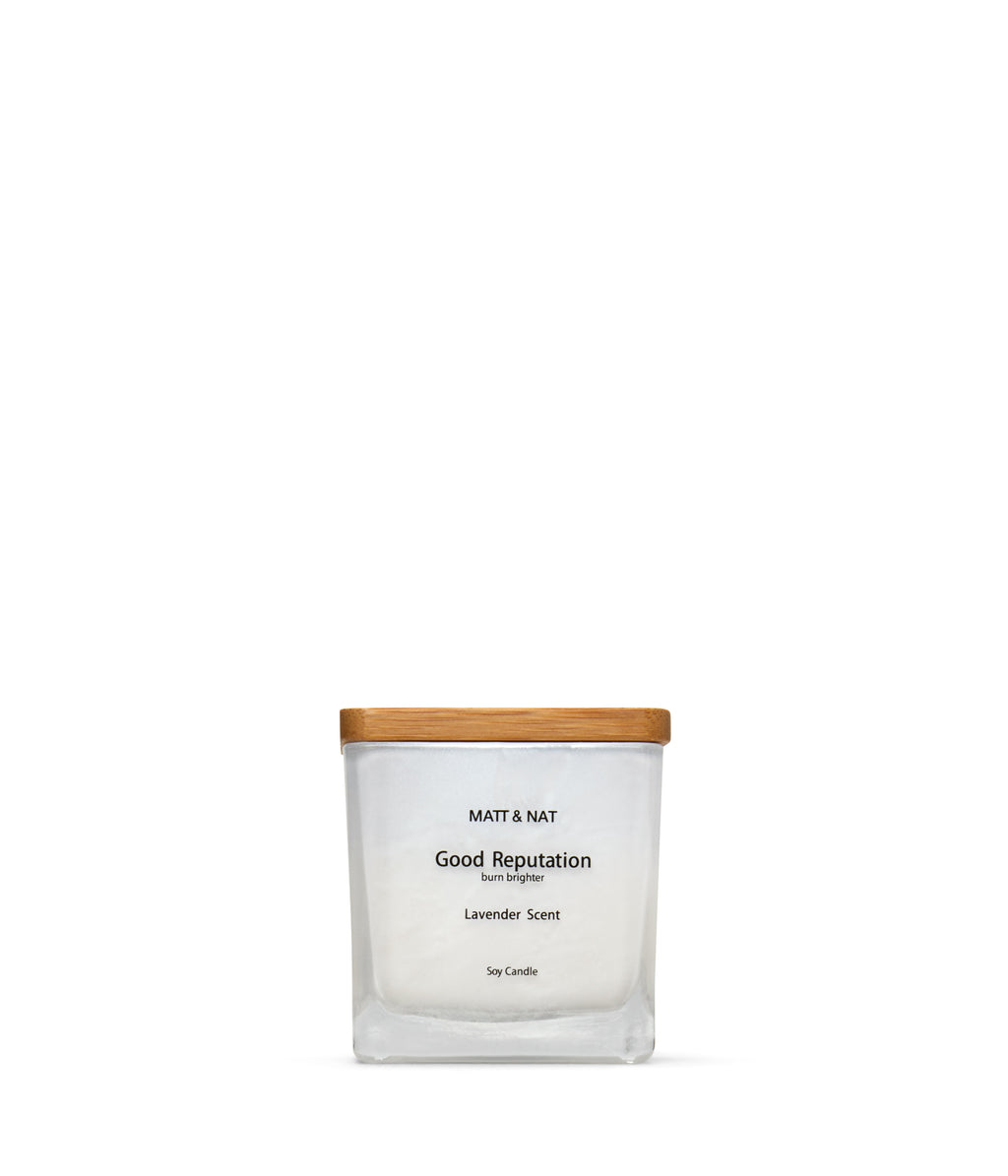 Matt & Nat GOODREP Candle - White