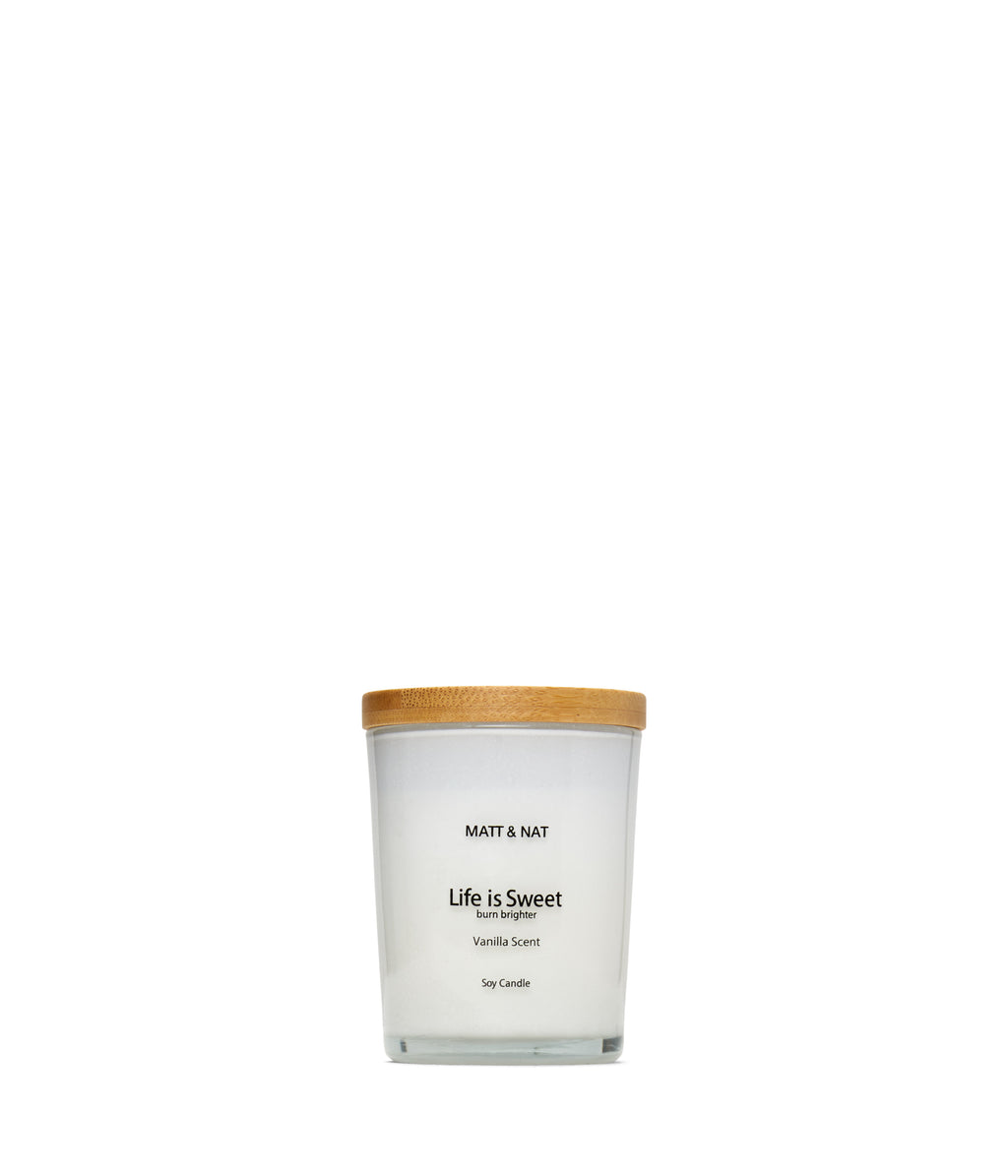 Matt & Nat LIFE Candle - White