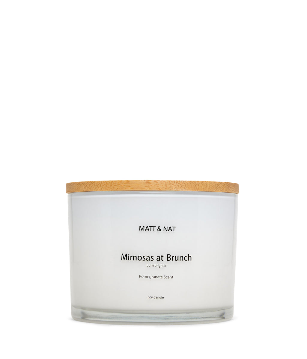 Matt & Nat MIMOSA Candle - White