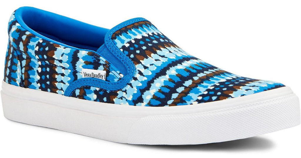 Vera Bradley Canvas Slip-On Shoes