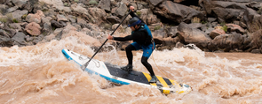 Stand Up Paddle Whitewater