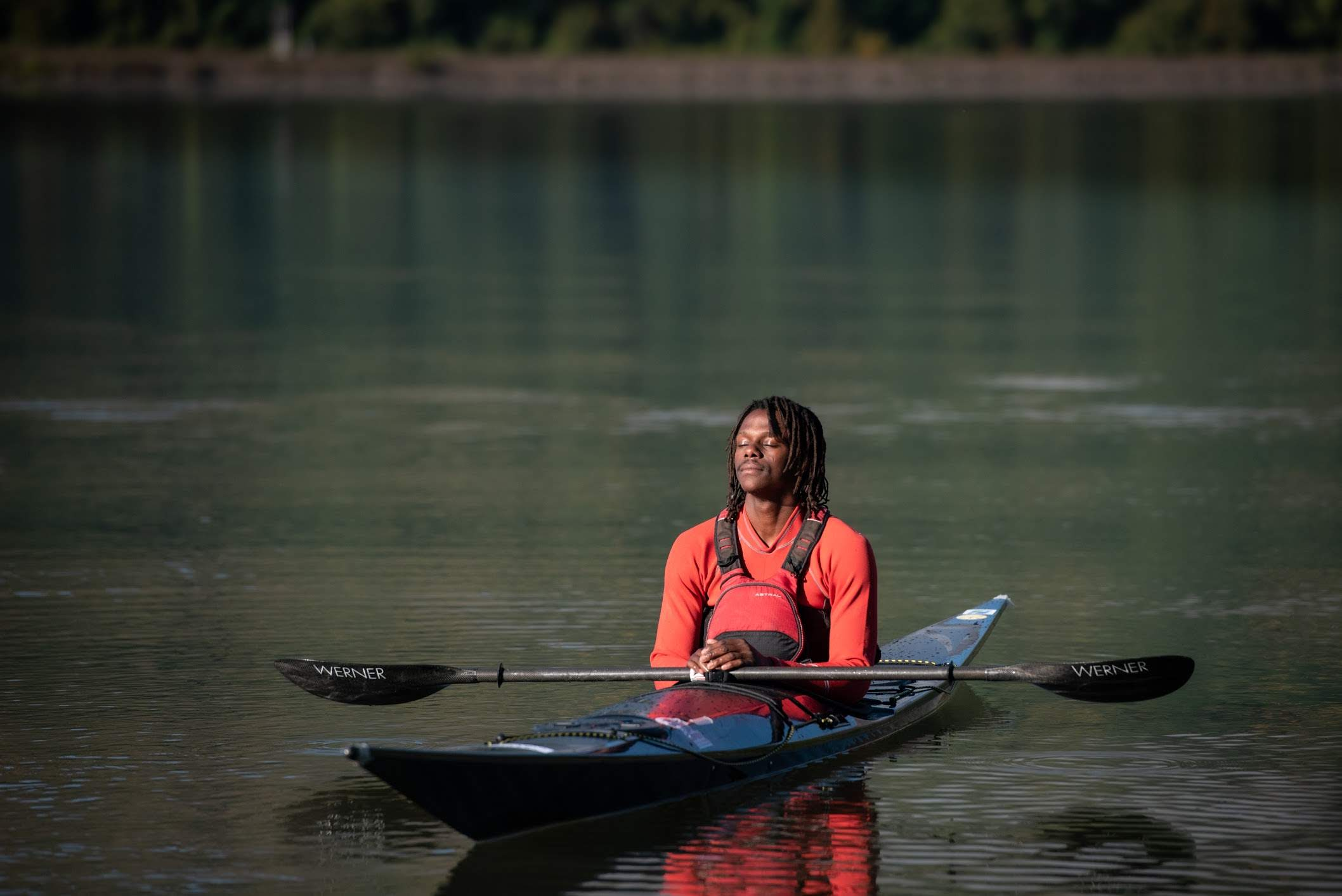 Chev Dixon tranquility on the water.