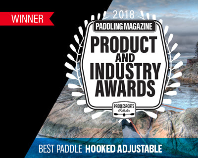 Hooked Adjustable wins Best Paddle for Paddlesports Retailer 2018