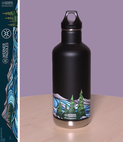 Healthy Waters Water Bottle Sticker