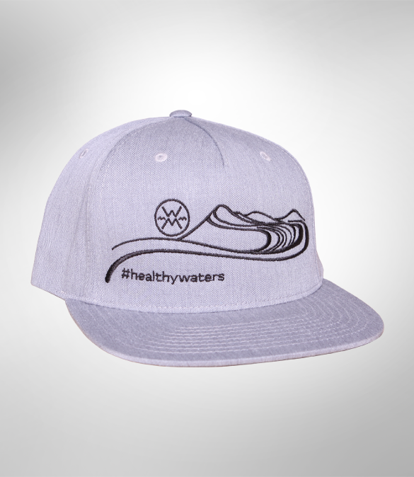 Healthy Waters Flat Brim Hat