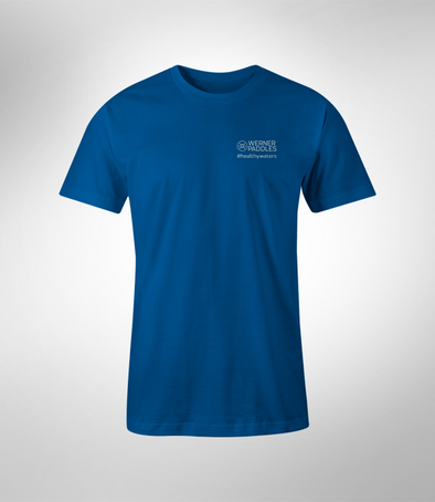 Men's 100% Cotton Healthy Waters T-Shirt