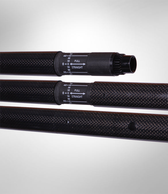 Shuna Carbon 4 Piece Straight Shaft